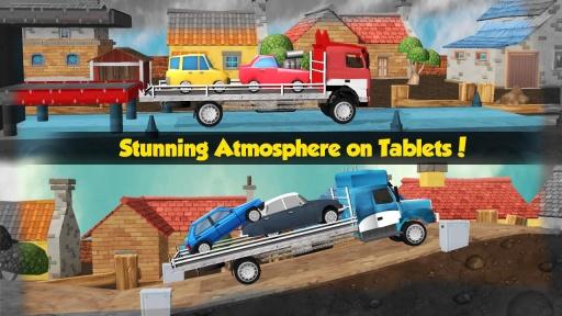 大卡车运小轿车3D截图1
