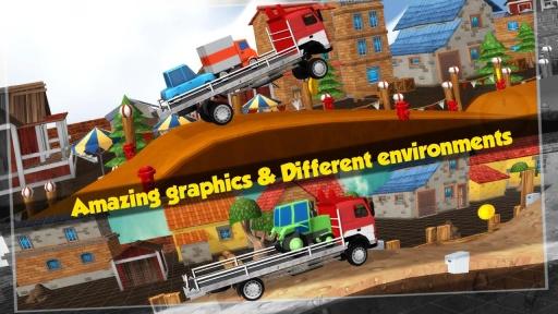 大卡车运小轿车3D截图3