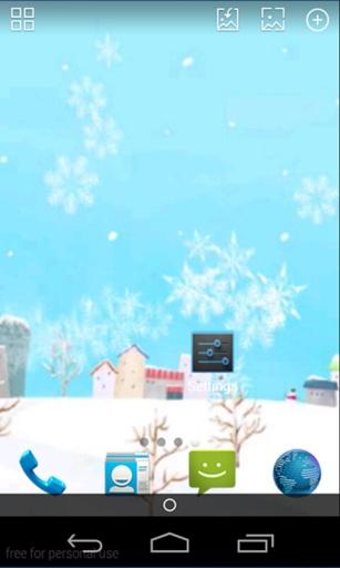 梦幻飘雪合集-玩壁纸