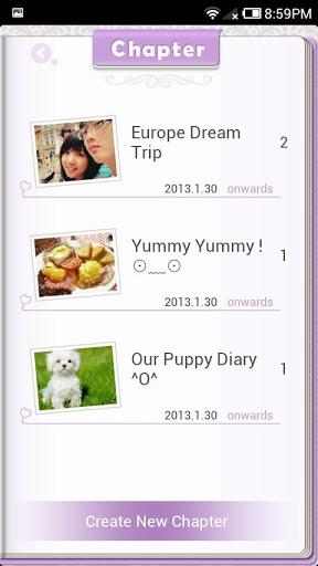 Chapter交换日记 社交 App-癮科技App