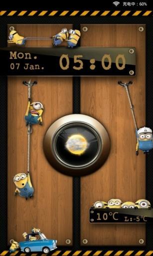 小黄人主题动态壁纸锁屏