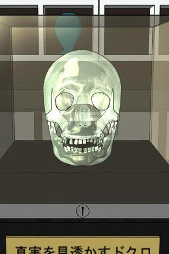 逃脱游戏:闪闪发光的骷髅头截图1