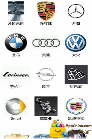 汽车品牌百科图鉴截图2
