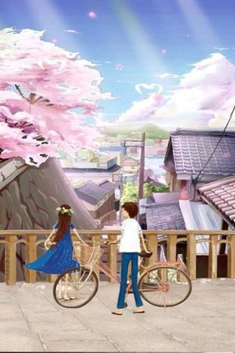 陪你看樱花-动态壁纸