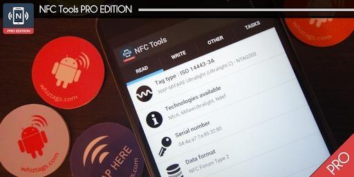 NFC Tools PRO截图0