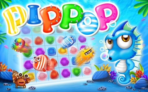 pip pop - 海洋消除游戏
