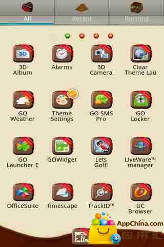 玩免費工具APP|下載GO主题-浓情巧克力 app不用錢|硬是要APP