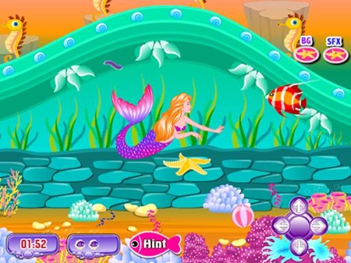 美人鱼的故事接吻游戏截图0
