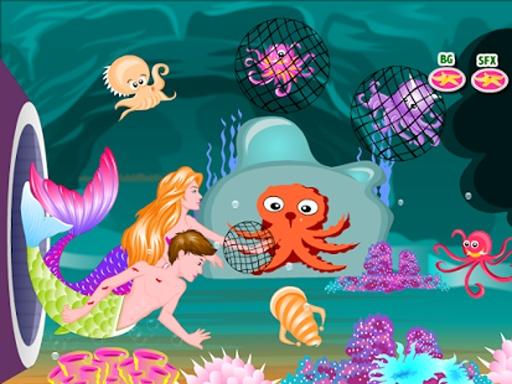 美人鱼的故事接吻游戏截图1