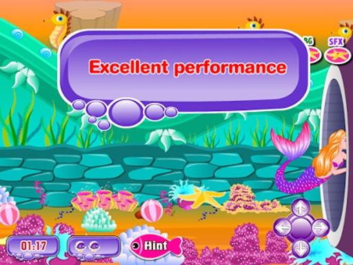 美人鱼的故事接吻游戏截图4