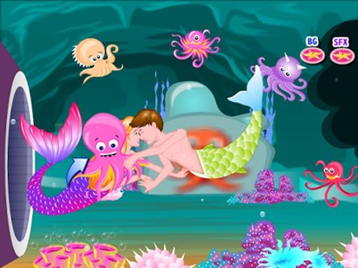 美人鱼的故事接吻游戏截图5