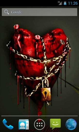 心脏在链 动态壁纸