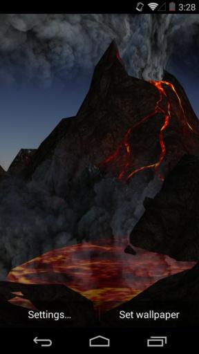 3D火山-梦象动态壁纸截图3
