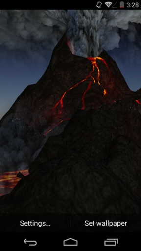 3D火山-梦象动态壁纸截图4