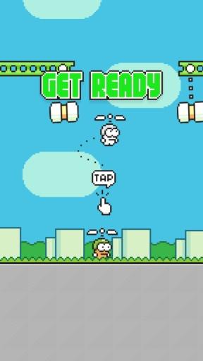 【免費動作App】摇摆直升机-APP點子