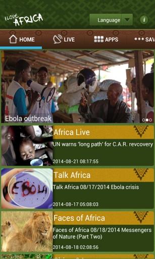 玩免費媒體與影片APP 下載I Love Africa app不用錢 硬是要APP