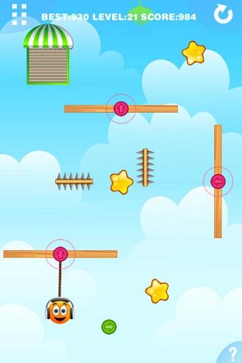 玩免費益智APP 下載重力橙子2 app不用錢 硬是要APP