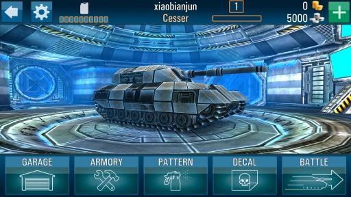 在线坦克对战截图1