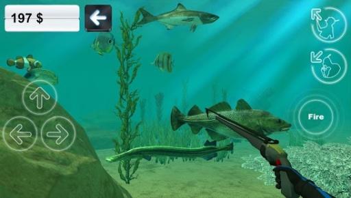 狩猎长矛。潜水。截图3