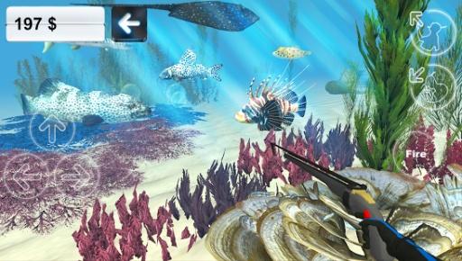 狩猎长矛。潜水。截图4