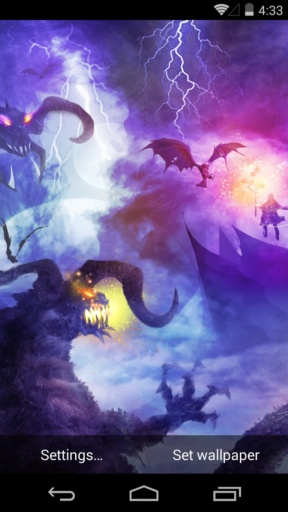 魔域之境-梦象动态壁纸截图1
