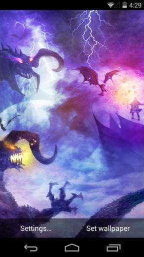 魔域之境-梦象动态壁纸截图2