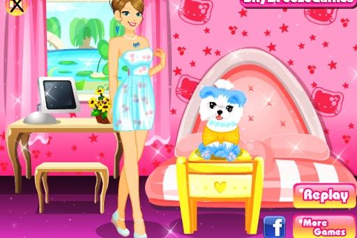 可愛的小狗裝扮寵物沙龍截图6