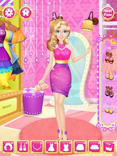 公主时尚一站式沙龙-女孩游戏截图3
