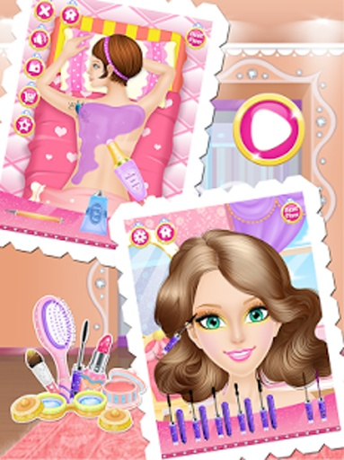 公主时尚一站式沙龙-女孩游戏截图4