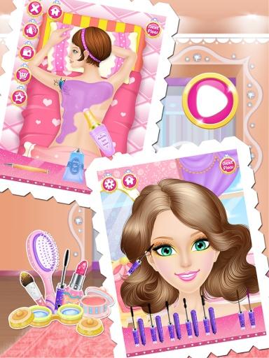 公主时尚一站式沙龙-女孩游戏截图6