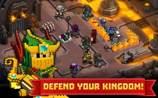 方块王国保卫战截图1
