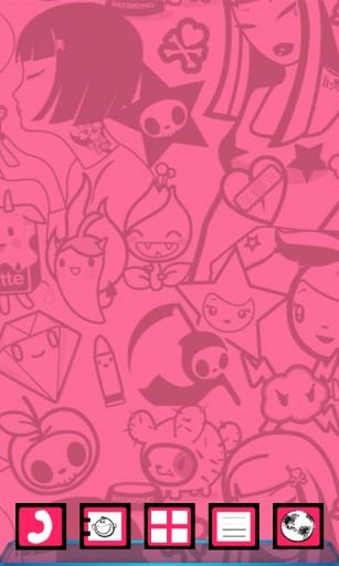 宝软3D主题-诱人的粉色系截图0