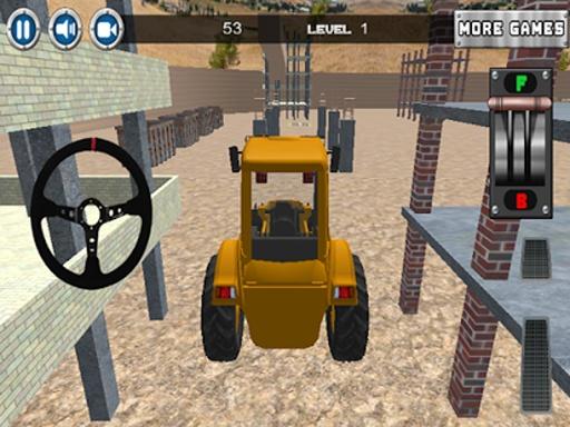 建设停车场3D截图1