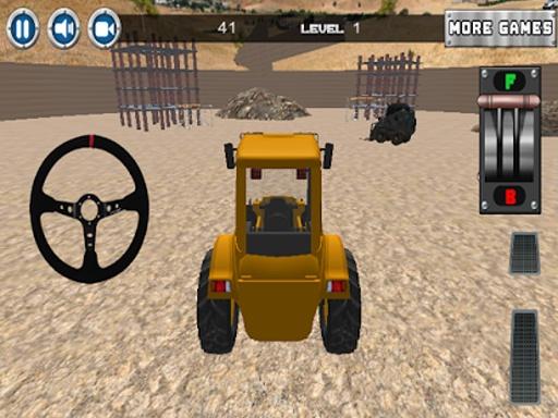 建设停车场3D截图2