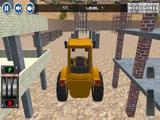 建设停车场3D截图3