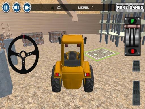 建设停车场3D截图6