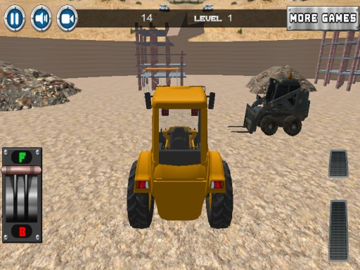 建设停车场3D截图9