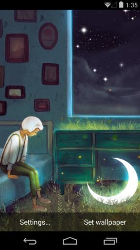 孤单星球之遇见孤单-梦象动态壁纸截图0