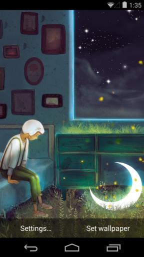 孤单星球之遇见孤单-梦象动态壁纸截图2