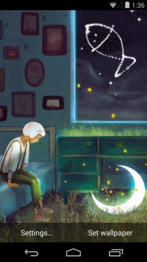 孤单星球之遇见孤单-梦象动态壁纸截图3