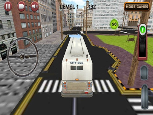 城市公交车,停车场3D截图0