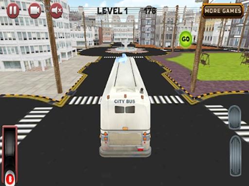 城市公交车,停车场3D截图2