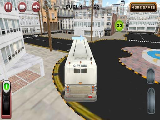 城市公交车,停车场3D截图7