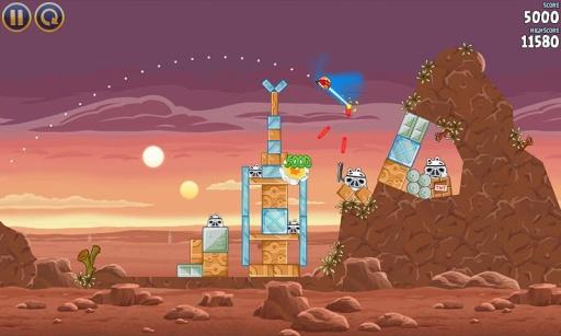 愤怒的小鸟:星球大战 Angry Birds Star Wars 中国版截图4