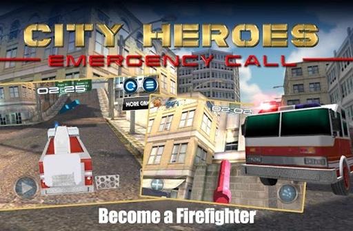城市英雄紧急呼叫3D截图1