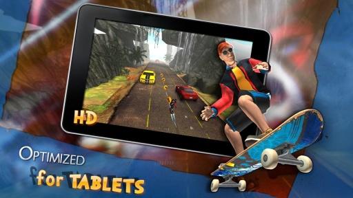 3D滑板跑酷截图1