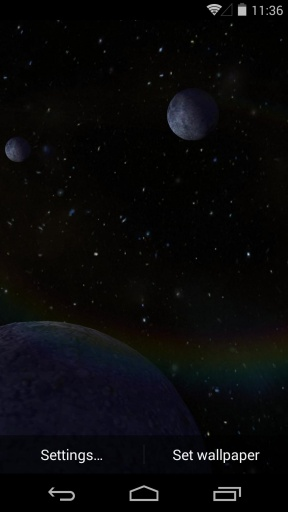 3D太空漫游-梦象动态壁纸