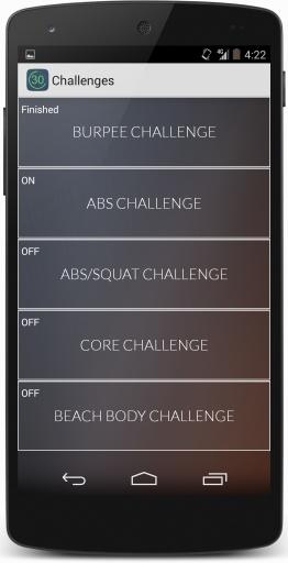 30天健身挑战截图1