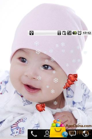手机壁纸可爱萌小孩