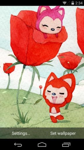 阿狸之春天-梦象动态壁纸